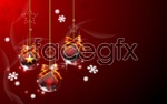 Link toChristmas hanging ball vector 3