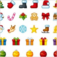 Link toChristmas holiday icons