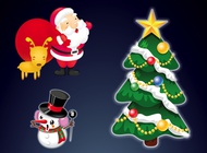 Link toChristmas illustrations vector free