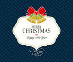Link toChristmas label stripes cards vector