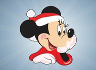 Link toChristmas minnie mouse vector free