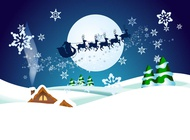 Link toChristmas night vector wallpaper free