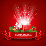 Link toChristmas open lid gift boxes vector