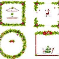 Link toChristmas ornament frame vectors