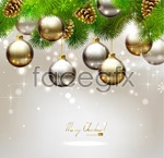Link toChristmas ornament gifts vector