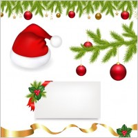 Link toChristmas ornaments vector