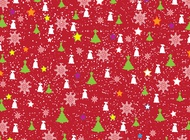 Link toChristmas paper pattern vector free