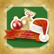 Link toChristmas photo frame background vector 04