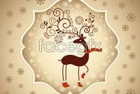 Link toChristmas reindeer cards
