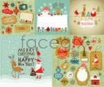 Link toChristmas related applications vector