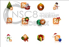 Link toChristmas rss subscription icon