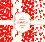 Link toChristmas seamless vector background