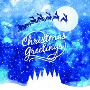 Link toChristmas snow night vector background 01