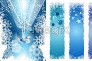 Link toChristmas snowflake decoration vector
