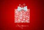 Link toChristmas snowflake gift boxes vector
