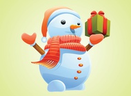 Link toChristmas snowman vector free