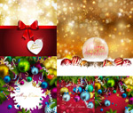 Link toChristmas spectacular light effects vector
