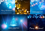 Link toChristmas star background vector