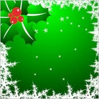 Link toChristmas star snowflake border clip art