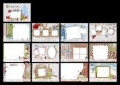 Link toChristmas style new year calendar template