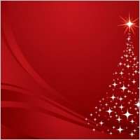 Link toChristmas tree background red