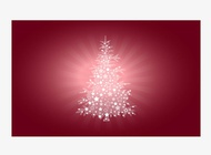 Link toChristmas tree card vector free