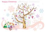 Link toChristmas tree figure psd