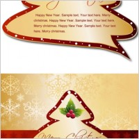 Link toChristmas tree tags vector
