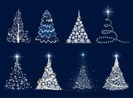 Christmas tree vector graphics free
