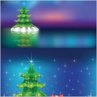 Link toChristmas vector background dream