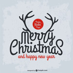 Link toChristmas words vector