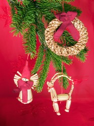 Link toChristmas wreath picture material download