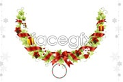 Link toChristmas wreath vector ii