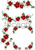Link toChristmas wreaths 2 vector