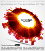 Link toCircle background vector