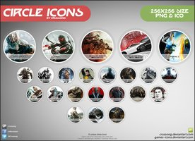 Link toCircle icons - pack