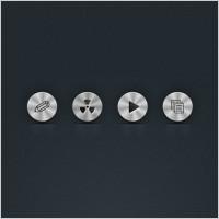 Link toCircle metal icons