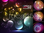 Link toCircle ring background vector