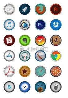 Link toCircle system desktop icons