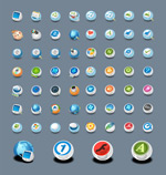 Link toCircle system icons