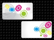 Link toCircles business cards vector free