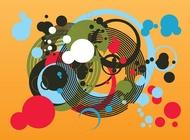 Circles vector graphics free