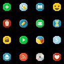 Link toCircular icons