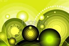 Link tovector background fantasy pattern Circular