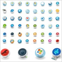 Link toCircular vector icons