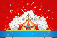 Link toCircus activity background vector graphics