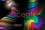 Link toCity rainbow vector