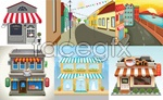 Link toCity street construction vector