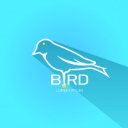 Link toClassic bird logo design elements vector 03 free