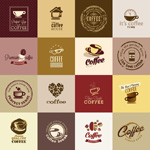 Link toClassic coffee signs vector